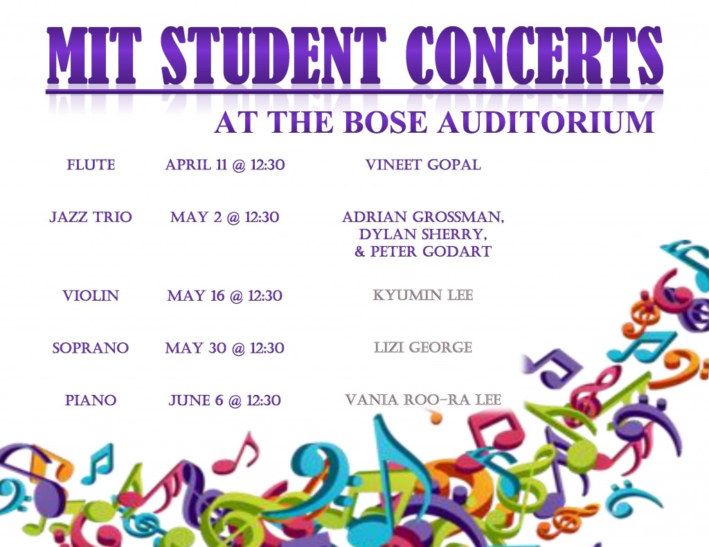 MIT Concerts bose